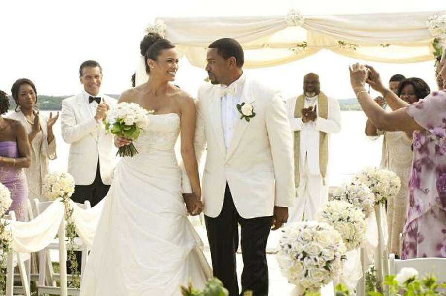'Jumping the Broom,'2011. Two completely different families join together for a weekend wedding. Photo: Jonathan Wenk, TRISTAR PICTURES