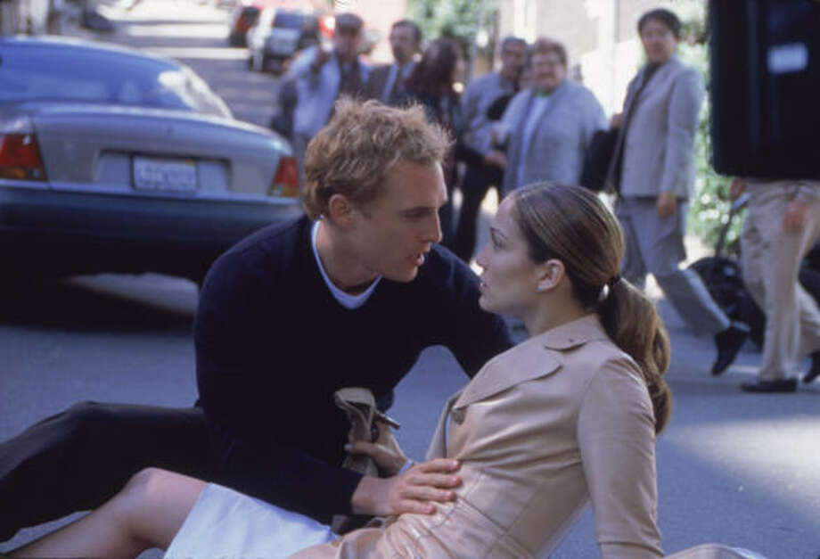 'The Wedding Planner,' 2001. JLo plays the bride again. This time, though, she inadvertently steals a groom when she's hired to plan his wedding. If there was ever a sequel to this movie, we bet she'd need a career change because there is no way anyone would hire her as a wedding planner again. Photo: Ron Batzdorff, Columbia Pictures C