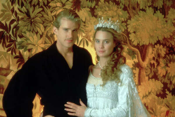 """The Princess Bride"" was released 25 years ago, on September 25, 1987. The cast reunited on Tuesday, Oct. 2, for an anniversary screening during the New York Film Festival. Let's take a look at the film and then cast now. Here, Westley/the Dread Pirate Roberts (Carey Elwes) and Princess Buttercup (Robin Wright)."