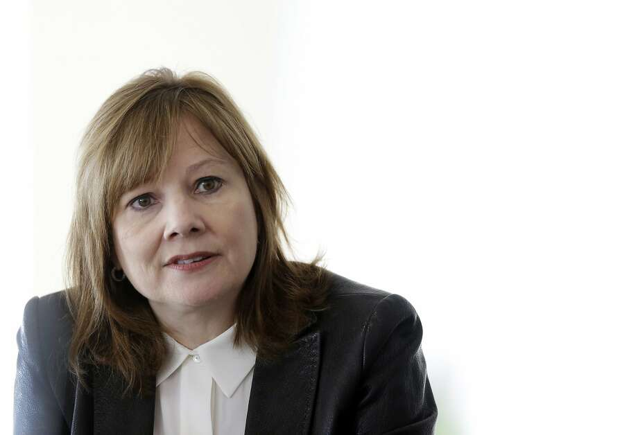 FILE - In this Thursday, Jan. 23, 2014, file photo, General Motors CEO Mary Barra ddresses the media during a roundtable meeting with journalists in Detroit. Barra says it's likely she will testify before congressional committees investigating the company's handling of a faulty ignition switch that is tied to 12 deaths. (AP Photo/Carlos Osorio, File) Photo: Carlos Osorio, Associated Press
