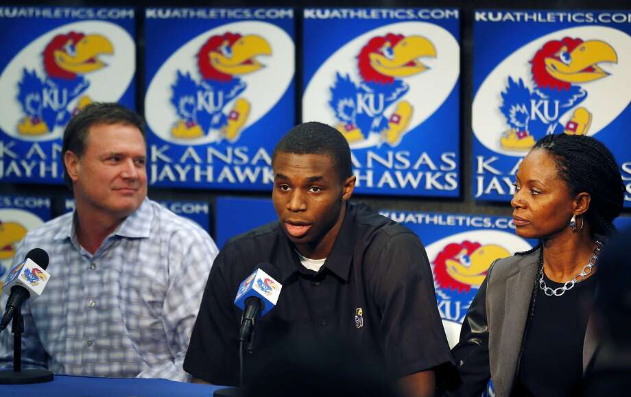 Andrew Wiggins averaged 17.1 points per game in his only college season. Photo: Orlin Wagner, Associated Press
