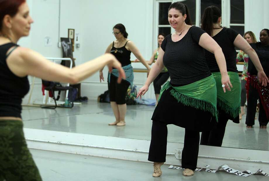 Monica Berini, who teaches a belly dance class at Alonzo King Lines Dance Center, wants to stay on the Healthy San Francisco plan after finding out the cost of health insurance on the state's exchange - even if that means paying a federal fine. Photo: Deborah Svoboda, The Chronicle