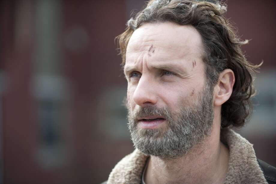 Rick Grimes (Andrew Lincoln) - The Walking Dead _ Season 4, Episode 16 - Photo Credit: Gene Page/AMC