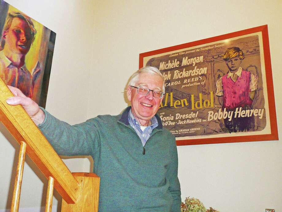 """Greenwich resident Robert Henrey came late to acknowledging the famous role he landed as an 8-year-old in the classic 1948 film,""""The Fallen Idol."""" He talks about the role and his life in his new autobiography,""""Through Grown-up Eyes: Living with Childhood Fame."""" Photo: Anne Semmes / Greenwich Time"""