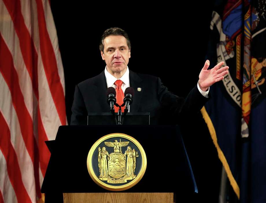 New York Gov. Andrew Cuomo. (AP Photo/Mike Groll) Photo: Mike Groll / A2014