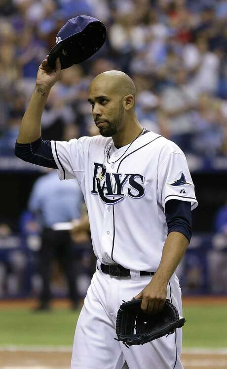 Tampa Bay ace David Price, the 2012 AL Cy Young Award winner, struck out six in 72/3 innings. Photo: Chris O'Meara / Associated Press / AP