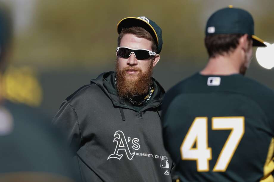 Sean Doolittleleft-handed pitcher, Oakland Athletics Photo: Mike McGinnis, Getty Images