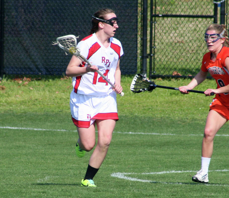 RPI women's lacrosse player Rachel Scofield, a Colonie High graduate. (RPI sports information) Photo: Unknown