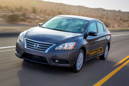 Nissan Sentra Model year being recalled: 2013Number of vehicles being recalled: 183,000Reason for recall: Software glitch could deactivate front passenger airbag Photo: Nissan, File / © 2012 Nissan