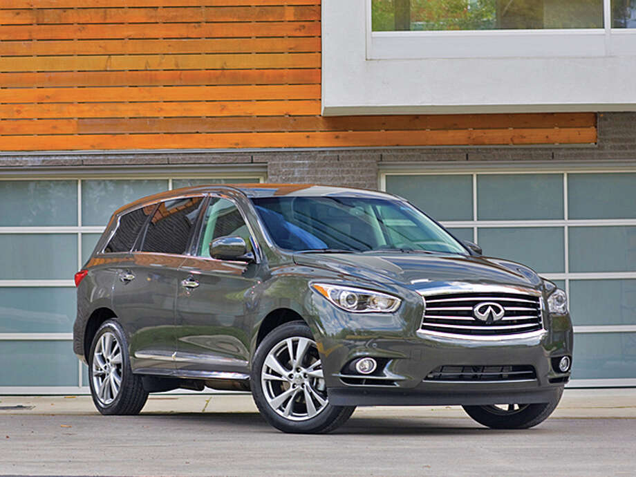 Infiniti JX35Model year being recalled: 2013Number of vehicles being recalled: 6,400Reason for recall: Software glitch could deactivate front passenger airbag Photo: James Yates / Copyright James Yates
