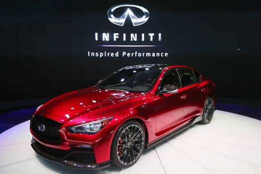 Infiniti Q50 sedanModel year being recalled: 2014Number of vehicles being recalled: 40,000Reason for recall: Software glitch could deactivate front passenger airbag Photo: Steve Russell, Toronto Star Via Getty Images