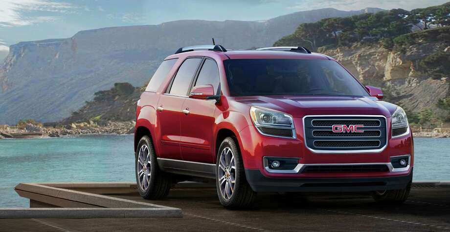 """GMC AcadiaModel year being recalled:2008-13Number of vehicles being recalled:Part of 1.8 millionReason for recall:Possible airbag non-deploymentModel year being recalled:2014Number of vehicles being recalled:Part of 355Reason for recall:Faulty transmission shift cable adjuster Photo: File / License Agreement - Please read the following important information pertaining to this image. This GM image is protected by copyright and is provided for use under a Creative Commons 3.0 License* for the purpose of editorial comment only. The use of this image for advertising, marketing, or any other commercial purposes is prohibited. This image can be cropped, but may not be altered in any other way, and each should bear the credit line """"© GM Co."""" General Motors makes no representations with respect to the consent of those persons appearing in these photos, or with regard to the use of names, trademarks, trade dress, copyrighted designs or works of art or architecture that are not the intellectual property of General Motors.  *The applicable Creative Commons 3.0 License can be found at http://creativecommons.org/licenses/by-nc/3.0"""