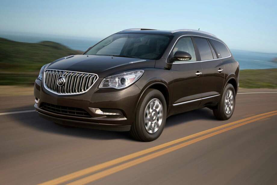 Buick EnclaveModel year being recalled: 2008-13Number of vehicles being recalled: Part of 1.8 millionReason for recall: Possible airbag non-deploymentModel year being recalled: 2014Number of vehicles being recalled: Part of 355Reason for recall: Faulty transmission shift cable adjuster Photo: GM