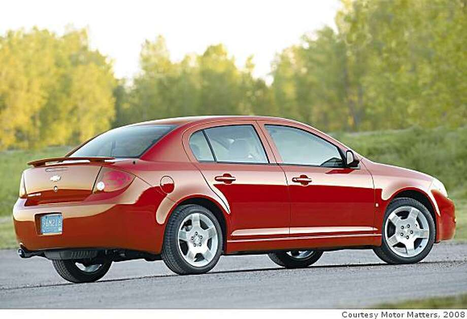 Chevrolet CobaltModel year being recalled: 2010Number of vehicles being recalled: Part of 1.5 millionReason for recall: Faulty electronic power-steering assistModel year being recalled: 2005-07Number of vehicles being recalled: Part of 1.6 millionReason for recall: Faulty ignition switch could cause fires Photo: Courtesy Motor Matters, 2008