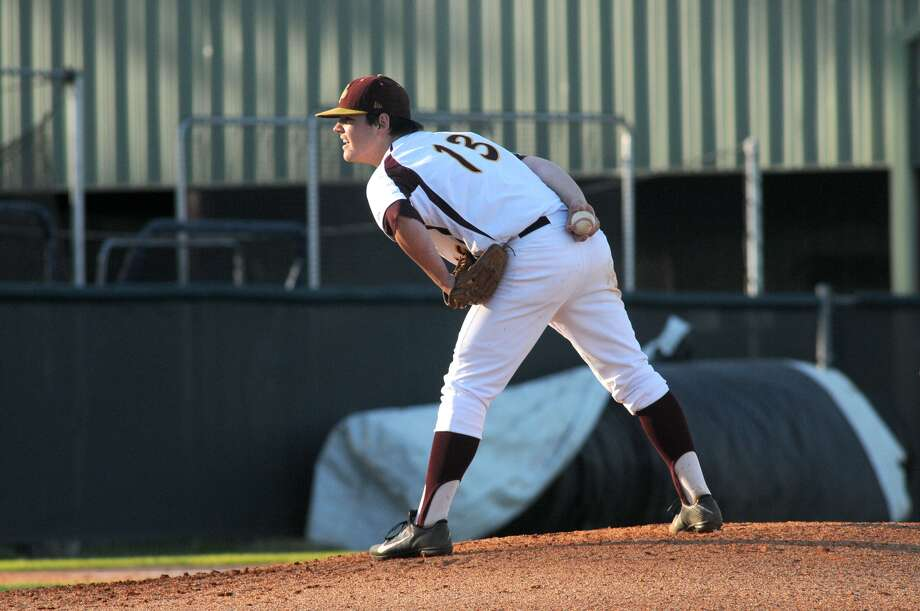 Deer Park pitcher Tyler Smith has emerged as a key starter for the Deer this season as the team makes a push for a deep playoff run. Photo: Jerry Baker, Freelance