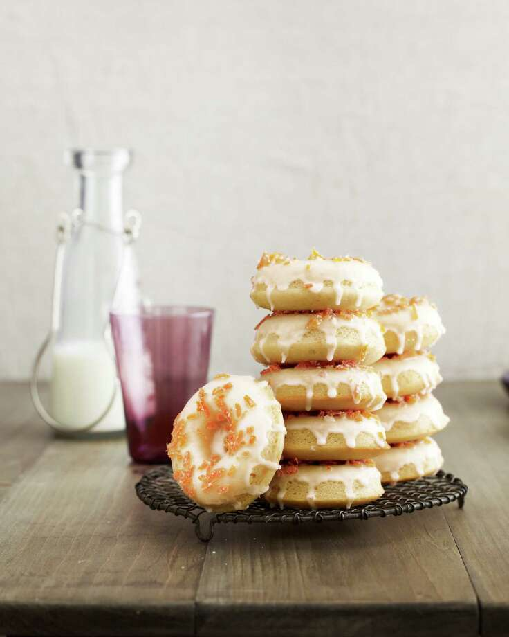 Grapefruit Buttermilk Doughnuts with Candied Zest, from Country Living. Photo: Andrew Purcell