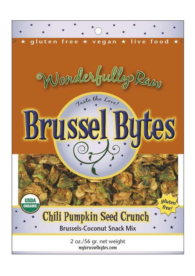 Brussel Bytes by Wonderfully Raw, $5.99 for a two-ounce bag. Photo: Courtesy Photo