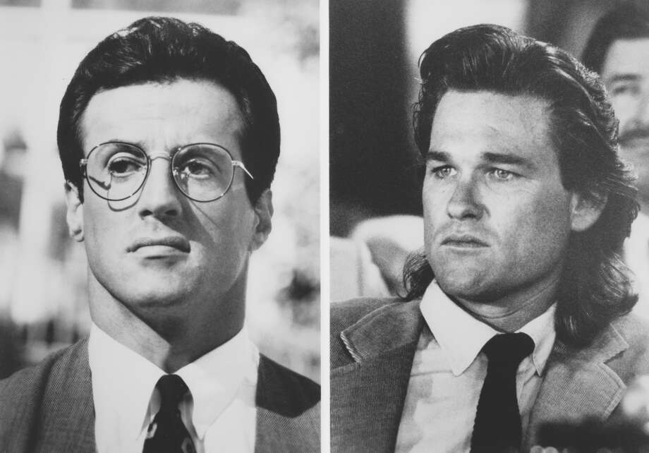 "Sylvester Stallone portrayed Ray Tango and Kurt Russell portrayed Gabriel Cash in the 1989 film ""Tango and Cash."" Photo: Houston Chronicle Library"
