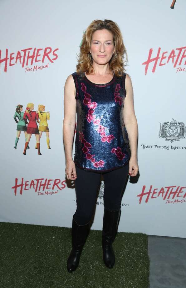 "Ana Gasteyer attends the off Broadway opening night of ""Heathers The Musical"" at New World Stages on March 31, 2014 in New York City. Photo: Rob Kim, Getty Images"