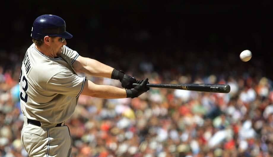 Phil Nevin made his mark in the majors with the Padres after leaving Houston. (Associated Press)