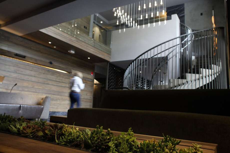 Palo Alto firm IDEO designed the mezzanine level of the Epiphany hotel. Photo: Lacy Atkins, SFC