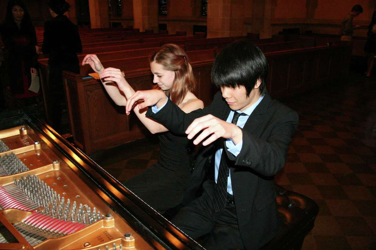 Kerrigan Quenemoen and Kenneth Yu performed a recent recital at St. Paul's United Methodist Church of pieces that they later performed at a national competition in Chicago.