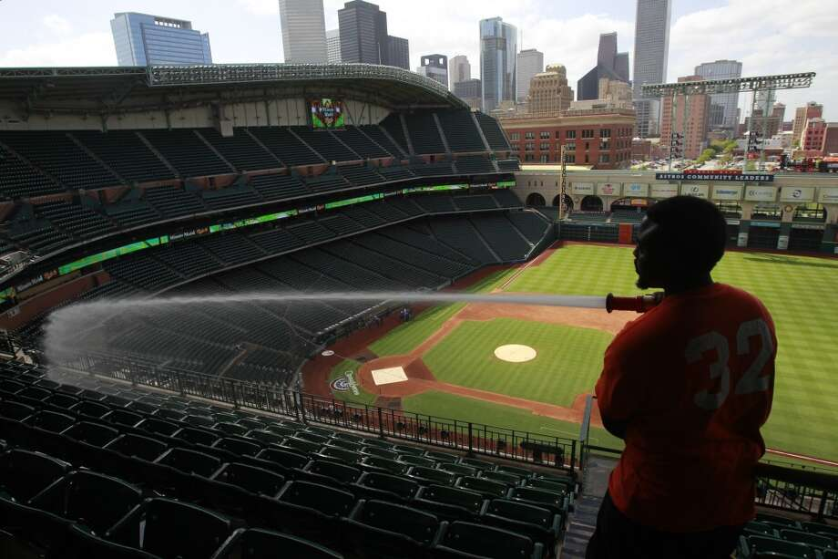 The Houston Astros begin playing regular season baseball today. But seriously, good luck this year, fellas.Here's the full 2014 Astros roster: Photo: Melissa Phillip, Houston Chronicle