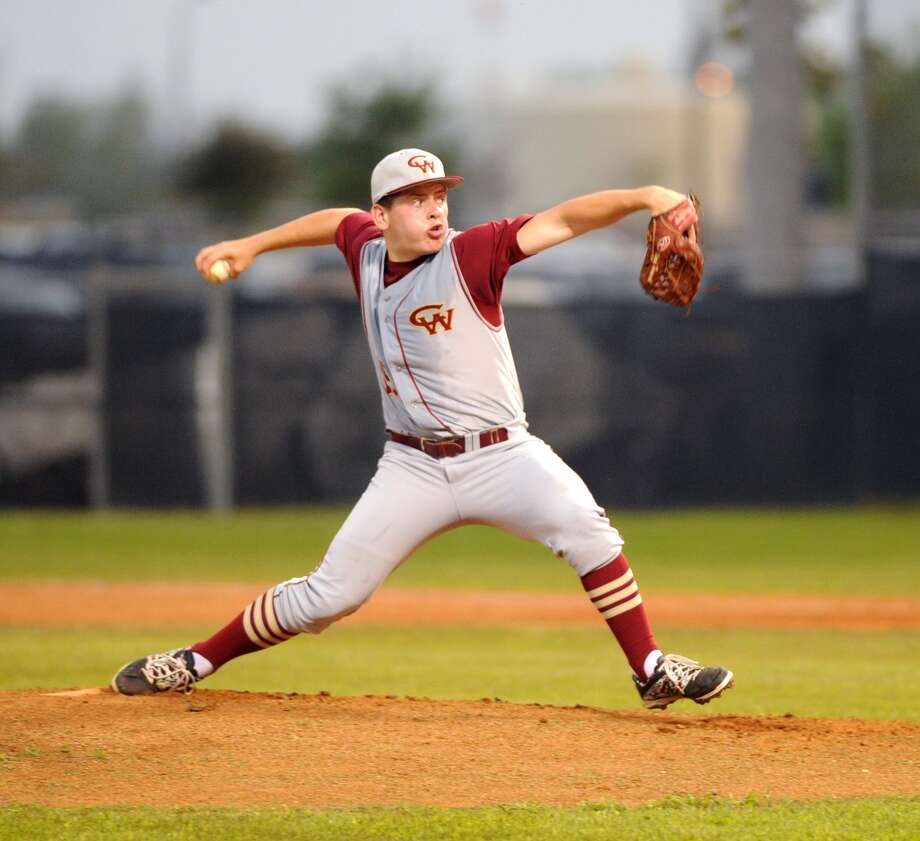 Cy Woods pitcher Mark Hammel has emerged as a key component of the Wildcats' starting rotation. Photo: Eddy Matchette, Freelance / Freelance