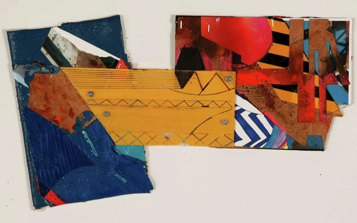 """Raul Gonzalez's """"Small Bridge 4 - Monuments and Ruins 1"""" is part of a new exhibit at UTSA Downtown Art Gallery."""
