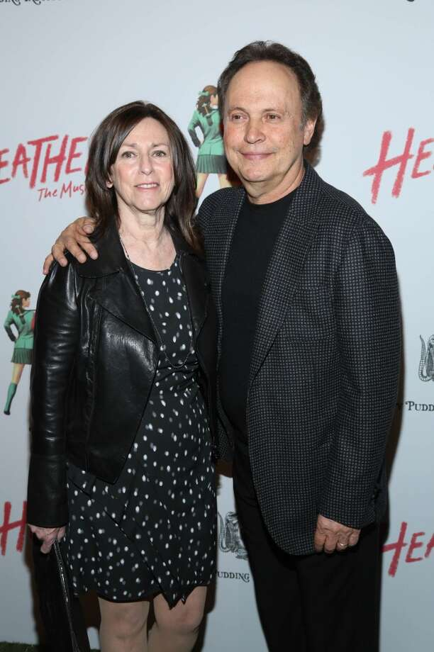 "Billy Crystal and wife Janice Crystal attend the off Broadway opening night of ""Heathers The Musical"" at New World Stages on March 31, 2014 in New York City. Photo: Rob Kim, Getty Images"