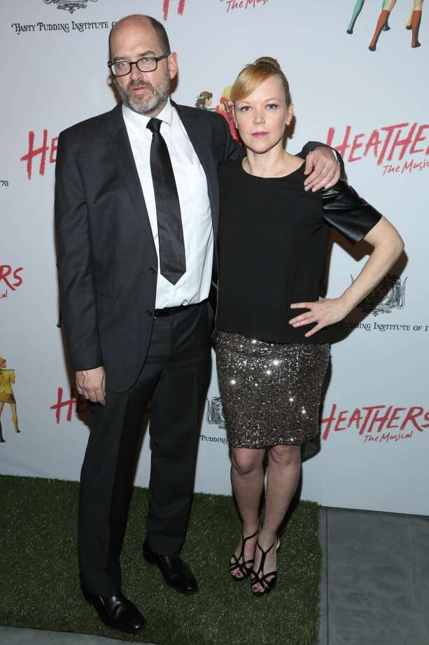 "Daniel Waters (L), film writer, and guest attend the off Broadway opening night of ""Heathers The Musical"" at New World Stages on March 31, 2014 in New York City. Photo: Rob Kim, Getty Images"