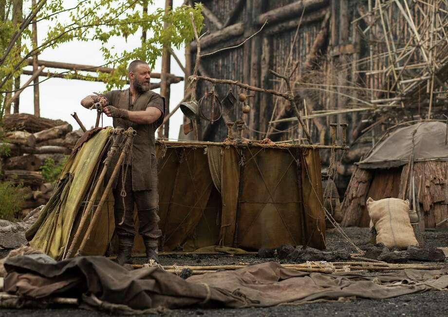 "Russell Crowe plays a vegan misanthrope in ""Noah."" The movie may make you think you've missed something important. You haven't. Photo: Paramount Pictures / Paramount Pictures"