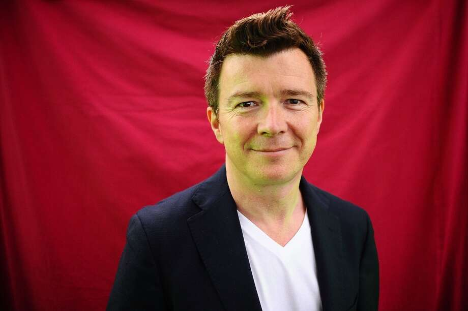 """Never Gonna Give You Up,"" Rick Astley Photo: Scott Campbell, Redferns Via Getty Images"
