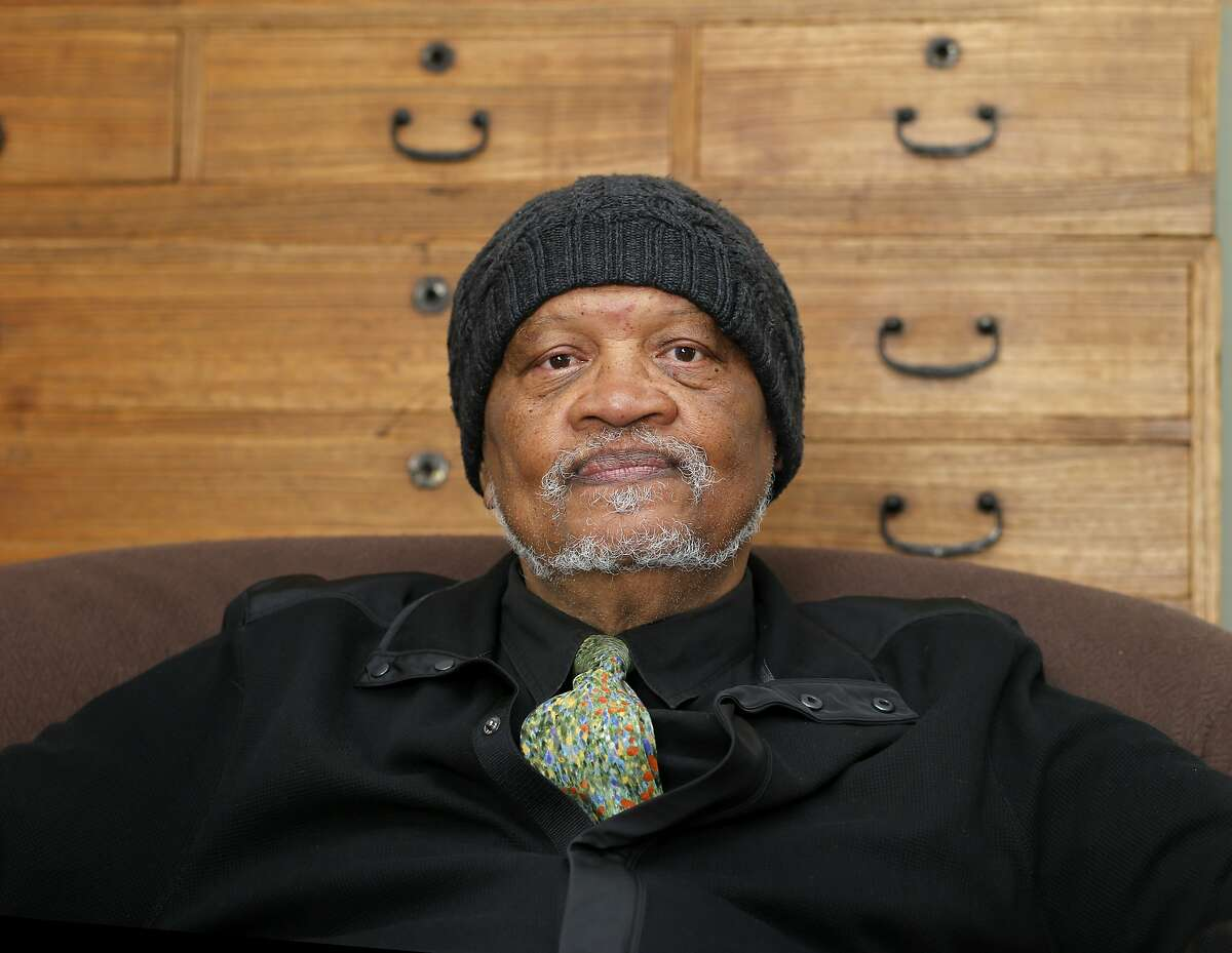 Poet Ishmael Reed relaxes in his Oakland, Calif home Tuesday April 1, 2014. SFJAZZ Poet Laureate Ishmael Reed is heading a diverse group of poets for the first SFJAZZ Poetry festival.
