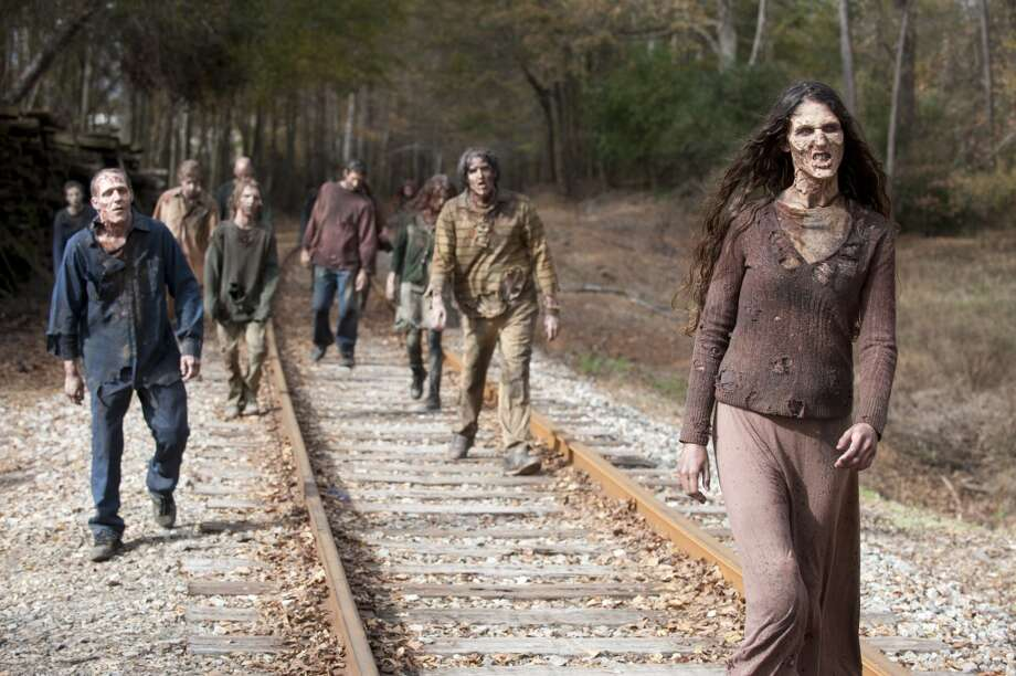 Walkers - The Walking Dead _ Season 4, Episode 16 - Photo Credit: Gene Page/AMC
