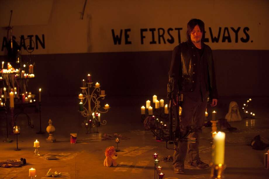 Daryl Dixon (Norman Reedus) - The Walking Dead _ Season 4, Episode 16 - Photo Credit: Gene Page/AMC Photo: Gene Page/AMC
