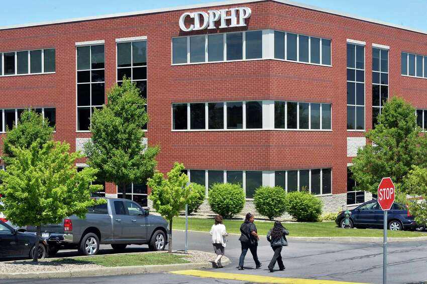CDPHP building on Patroon Creek Blvd. in Albany, NY, Wednesday June 5, 2013. (John Carl D'Annibale / Times Union)