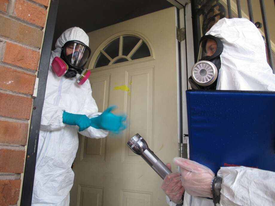 In July 2011, TechCrunch an Oakland man had his home ruined by meth addicts and thieves. Troy Dayton said he found bizarre damage and several meth pipes strewn about. Photo: Adrian Sainz, Associated Press