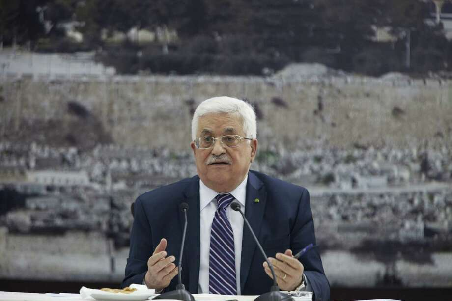 Palestinian President Mahmoud Abbas resumed a Palestinian bid for further U.N. recognition despite a promise to suspend such efforts during nine months of negotiations with Israel. Photo: Majdi Mohammed / Associated Press / AP