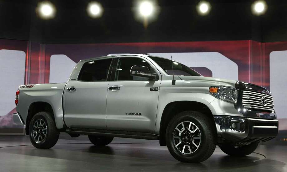 Toyota recorded its best month since August 2008 with sales of the San Antonio-made Tundra up 25 percent over March 2013. Photo: Rex Arbogast / Associated Press / AP