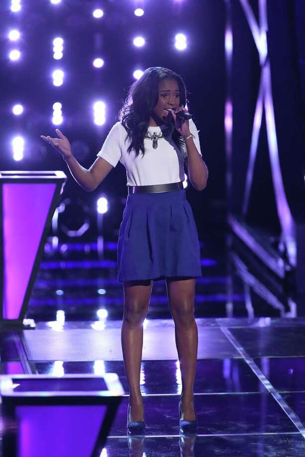 "Deja Hall, a Taft High junior, nabbed a Top-20 ""Voice"" spot. Photo: NBC / 2014 NBCUniversal Media, LLC"