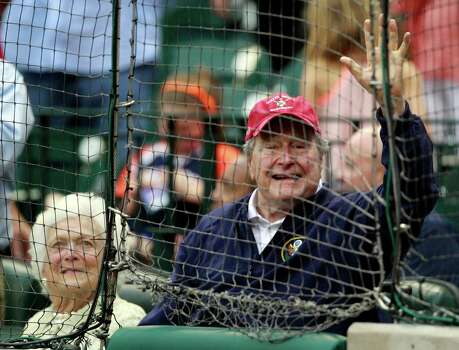When the couple was a constant mainstay at Houston Astros games at 