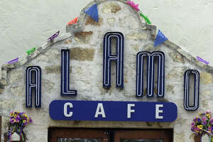 Businesses across the state assume the Alamo connotation such as the Alamo Cafe.