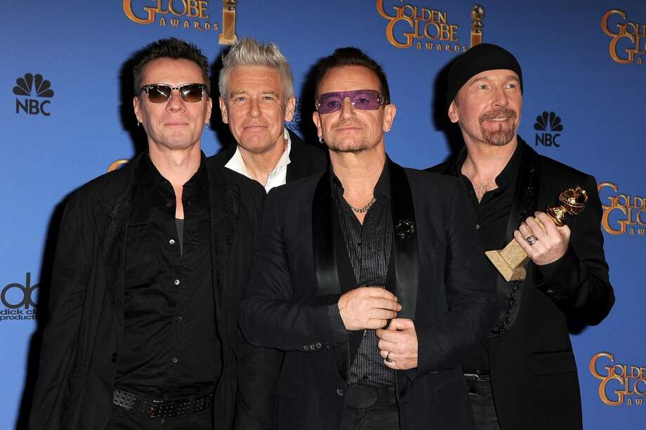 """St. Mary's College in Moraga, Calif., took on the lyrics of U2 for """"Spirituality & Politics of U2,"""" which uncovered the spiritual messages behind songs like """"Until the End of the World"""" and """"I Still Haven't Found What I'm Looking For."""" Photo: Steve Granitz, WireImage"""