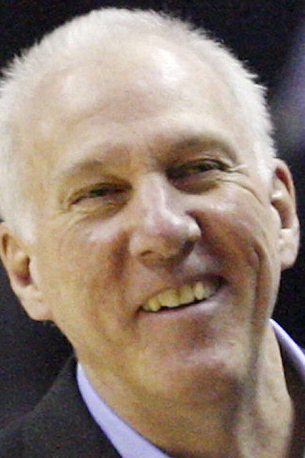 "Gregg Popovich on the streak ending: ""that will be good."" / © 2014 San Antonio Express-News"