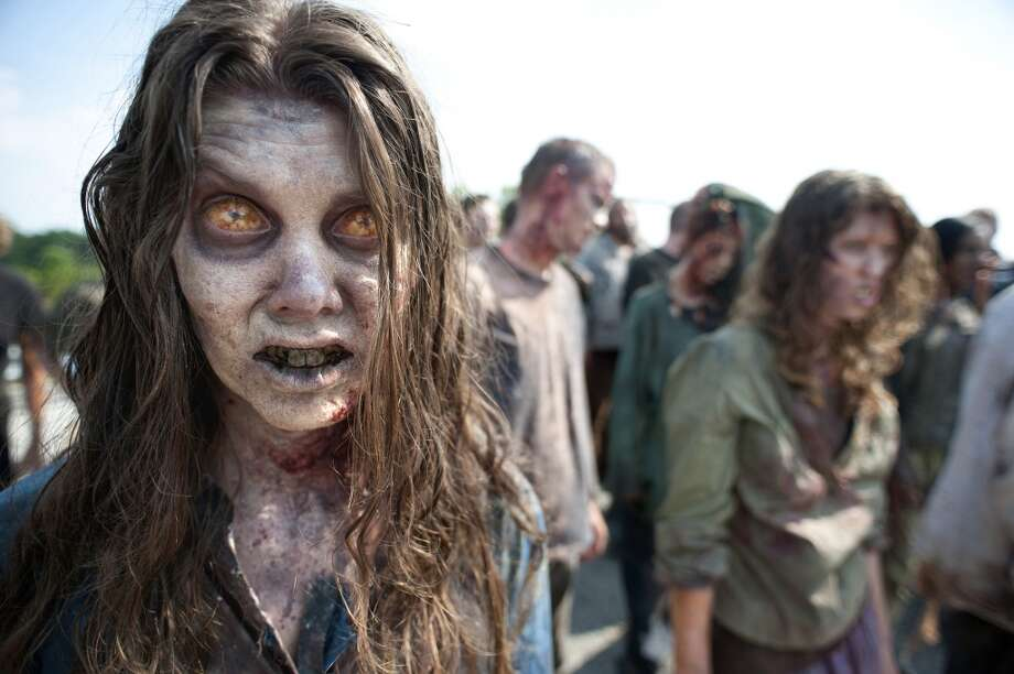 "In 2013, UC Irvine and AMC teamed up to offer ""Society, Science, Survival: Lessons from AMC's The Walking Dead."" The free course offered up such useful knowledge as how to ""summarize multiple methods for managing stress in disaster situations"" and ""describe how infectious diseases - like a zombie epidemic - spread and are managed."" Photo: Gene Page, Associated Press"
