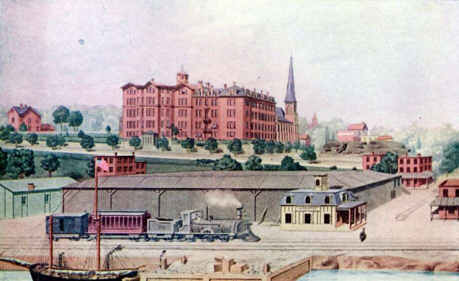 15. Manhattan College2013 cost: $178,30020-year net ROI: $675,600(A 1918 illustration of Manhattan College at the college's first 1855 location on Canal Street.) Photo: Interim Archives, Getty Images
