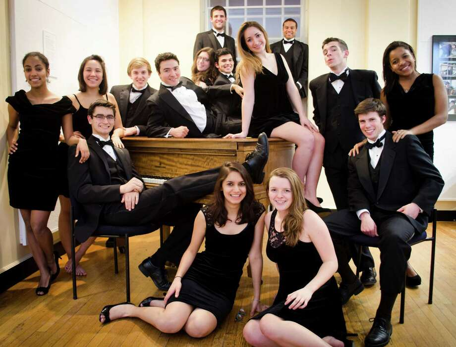 The Harvard Opportunes, the university's co-ed a cappella group, will perform a mix of classic and popular songs in a concert Sunday, April 6, at the Darien Library. Photo: Contributed Photo, Contributed / Darien News
