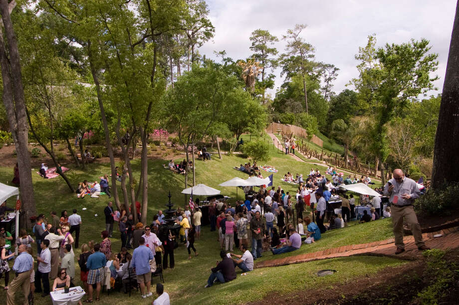 Brenner's Wine Fest spills onto the back lawn of Brenner's on the Bayou. Photo: Courtesy Photo