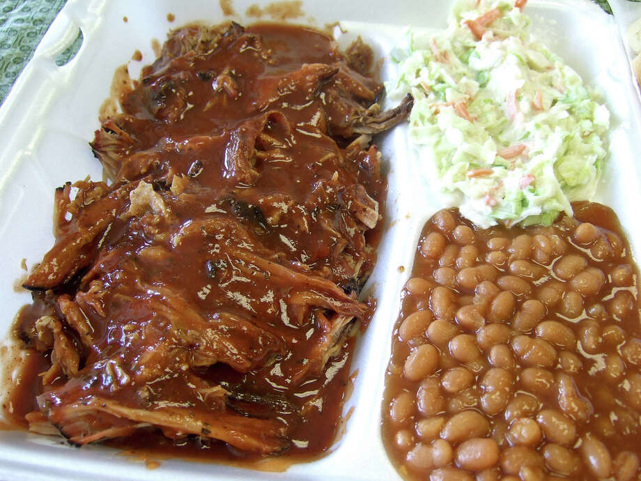 Southern-style pulled pork from Fainmous BBQ Photo: J.C. Reid